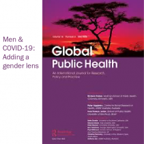 Men and COVID-19: Adding a gender lens