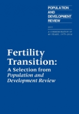 Fertility Transition: A Selection from Population and Development Review