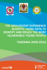 The Adolescent Experience In-depth: Using Data to Identify and Reach the Most Vulnerable Young People