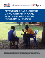 Retention of adolescents living with HIV in care, treatment, and support programs in Uganda