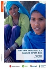 More Than Brides Alliance: Baseline report, India