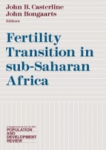 Fertility Transition in Sub-Saharan Africa