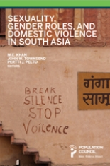 Sexuality, Gender Roles, and Domestic Violence in South Asia