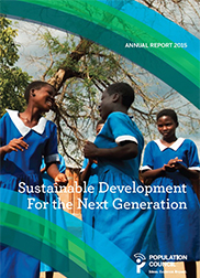 Annual Report 2015: Sustainable Development for the Next Generation