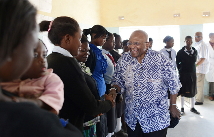 Population Council Hosts Archbishop Desmond Tutu, HRH Princess Mabel van Oranje in Zambia